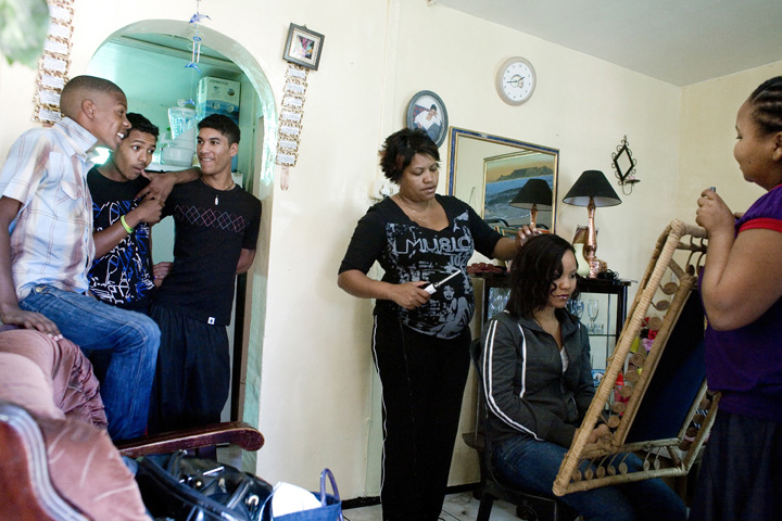 Manenberg, South Africa hairdressor