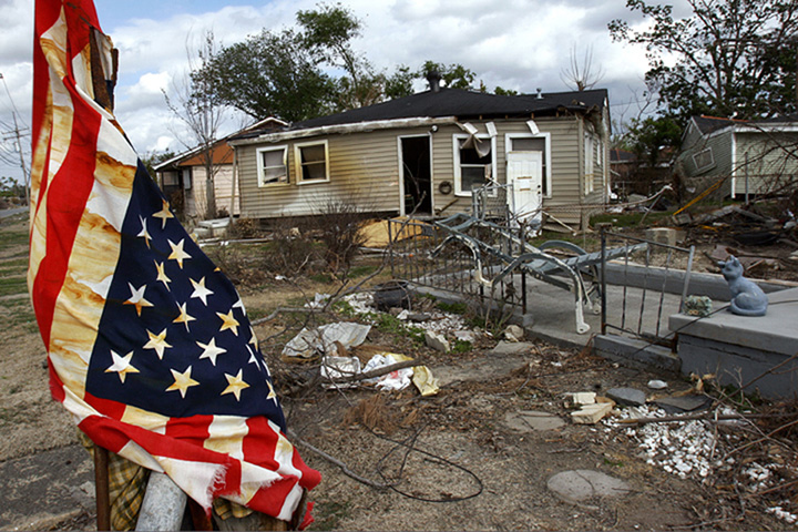hurricane katrina new orleans lower 9th ward