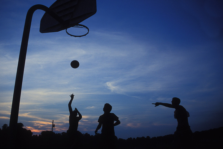basketball silouette
